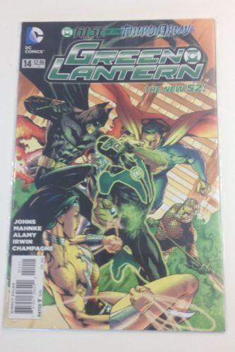 Green Lantern #14 (Rise of the Third Army) - The New 52