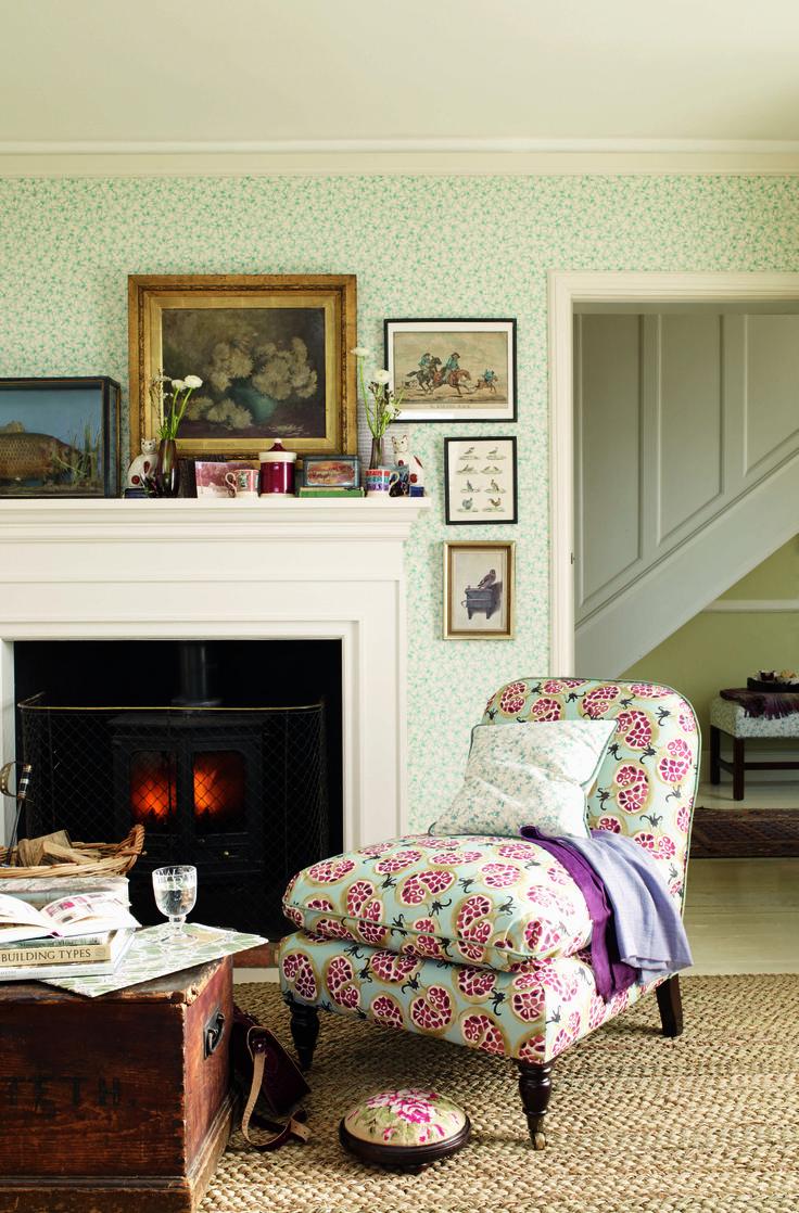 Emma Bridgewater Pomegranate Fabric Chair