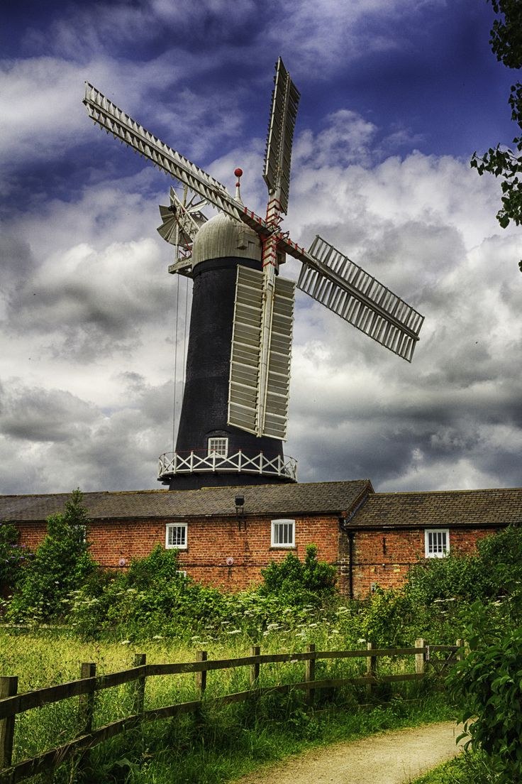 A beautiful old Windmill in Skidby, East Yorkshire.