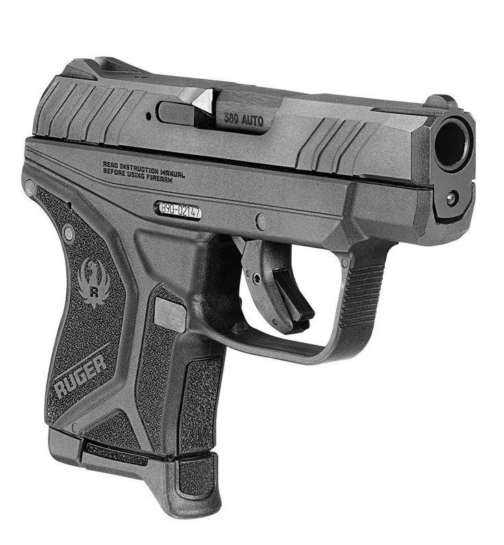NEW - Ruger's LCP striker fired 380 cal pistol.