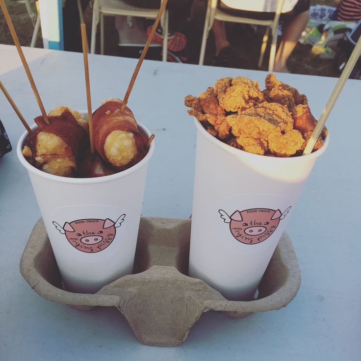 Varsity Lakes Springtime Eats Food Trucks featuring Surf Burger, The Frying Piggy, Boss Bites & The Churro Shack – merry eat, merry drink, merry be