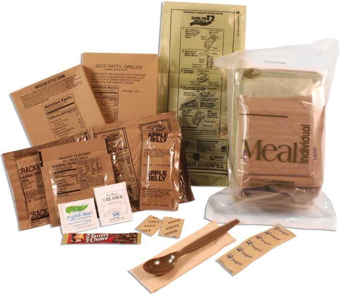 military surplus mre meals the best mre food storage you. Black Bedroom Furniture Sets. Home Design Ideas