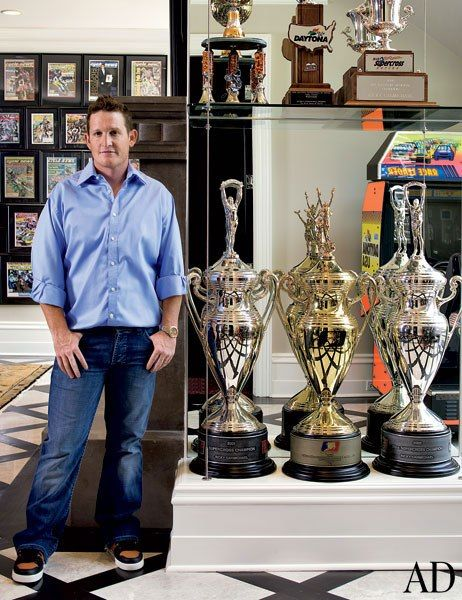Motocross racer Ricky Carmichael's Tallahassee, Florida Home.