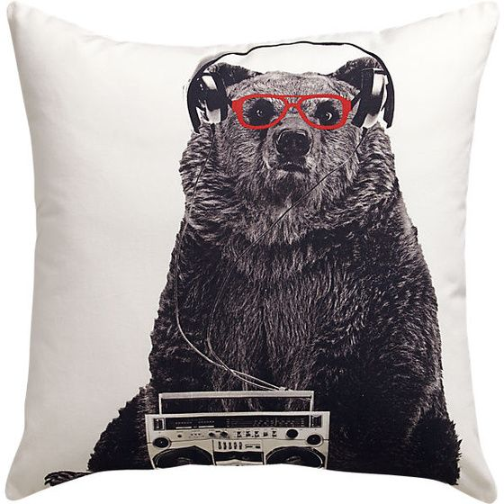 """bruce 18"""" pillow - InStores"""