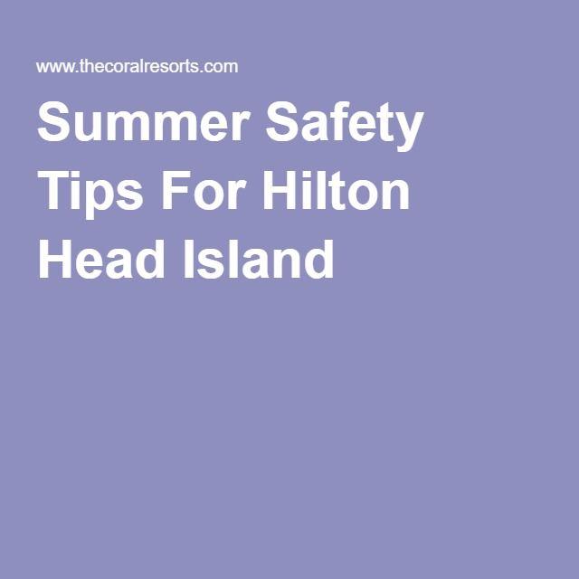 Summer Safety Tips For Hilton Head Island