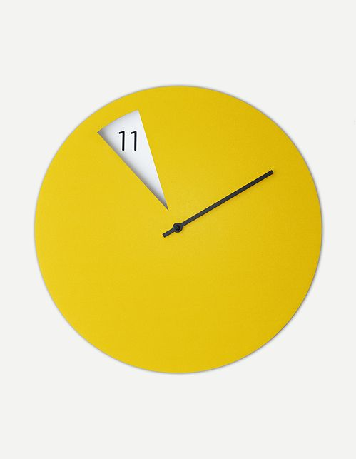 FreakishCLOCK wall clock by Sabrina Fossi - flodeau.com 02