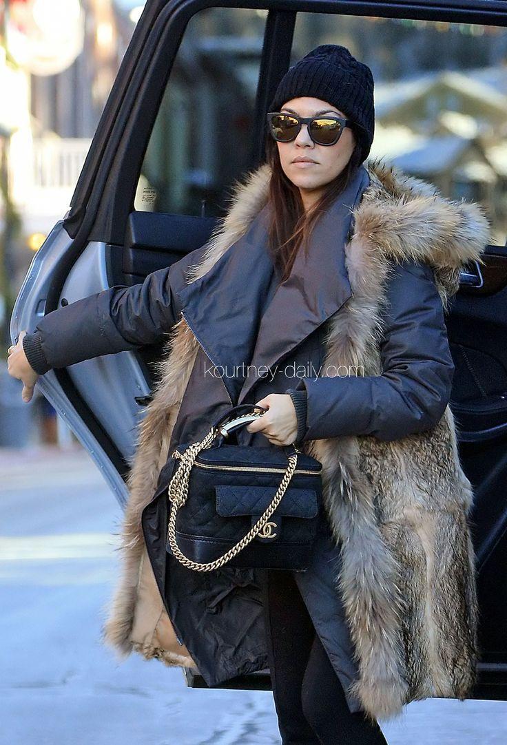 Kourtney Kardashian January 2014