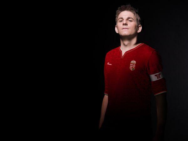 Football kit concept for Hungary's National team by András Sütő, via Behance