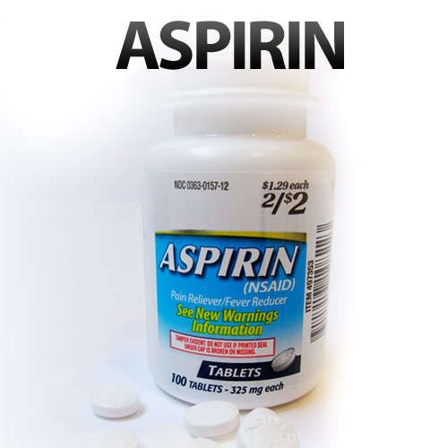 9 Uses for Aspirin: 1. Heart attack mitigation, 2. Remove sweat stains, 3. Restore hair color, 4. Zap zits and punish pimples, 5. Treat bug bites and stings, 6. Organic gardener's dream, 7. Treat dandruff, 8. Squeeze the last juice from a car battery, 9. Treat a hangover