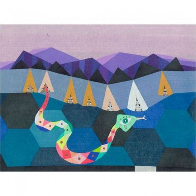 Lisa Lapointe Limited Edition Print - Valley Of The Serpent