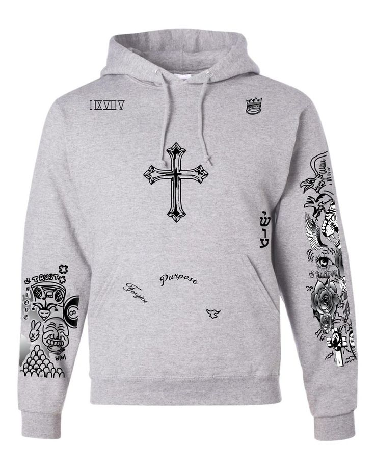 justin bieber tattoo sweatshirt the. Black Bedroom Furniture Sets. Home Design Ideas