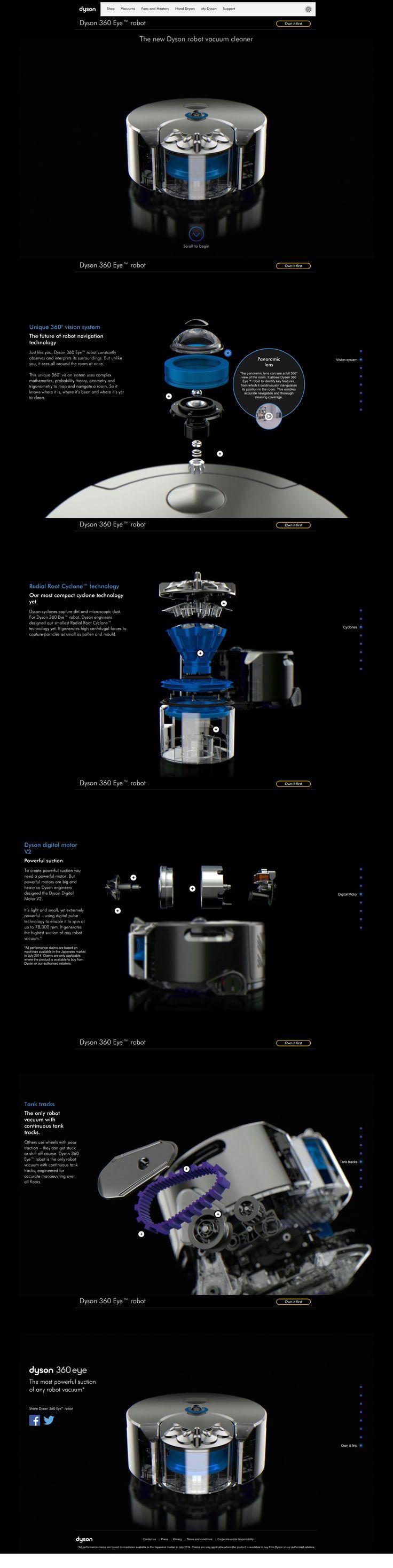 Dyson 360 Eye - Robot aspirateur #dyson