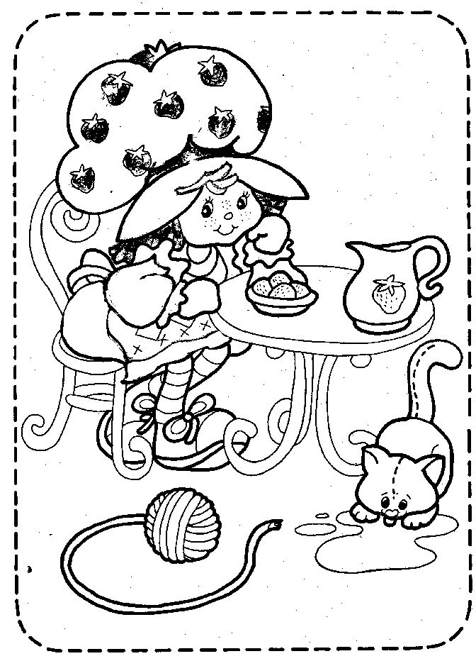 68 Best Images About Crafty 80 S Strawberry Shortcake