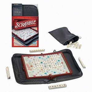 Travel Scrabble- perfect for everyone on any vacation. #Games #Activities #Travel