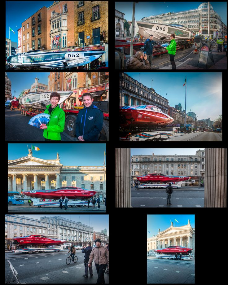 The Venture Cup Race launch with Failte Ireland  and Dublin City Council in St. Stephen's Green and O'Connell Street | Venture Cup Race