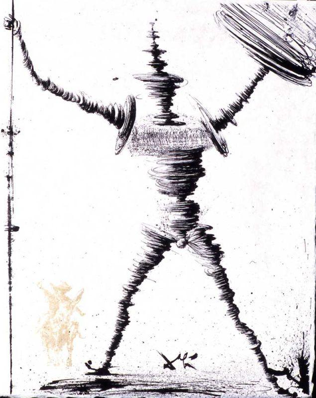 Сальвадор Дали. Дон Кихот