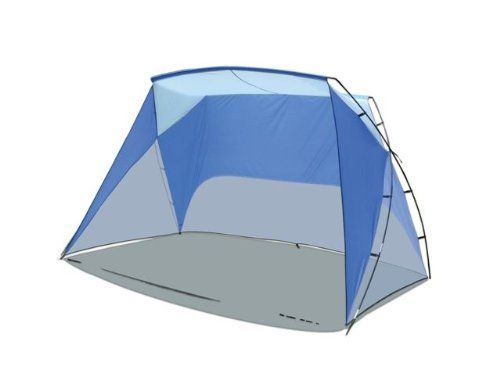 Caravan Sport Shelter by Caravan. $39.81. Light weight for easy transport (less than 4 lbs). Assembled in minutes. 50 plus uv top provides maximum protection from the sun. Includes: carry bag and stake kit. Strong, durable fiberglass tube. The Sport Shelter is a lightweight durable tent that provides maximum protection from the sun. The Sport Shelter can be assembled in minutes, and the kit comes with stakes and ropes for maximum stability.. Save 34%!