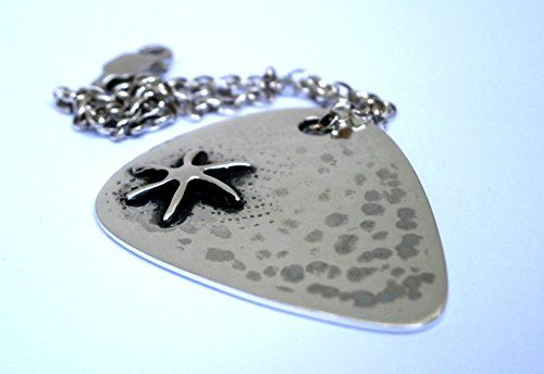 Sterling Silver Guitar Pick Necklace - Personalized gift for him - Gift for guitar player - Gift for Dad - Father's Day Gift - Silver Mens Pendant Guitar Pick - Boyfriend Gift - Music Necklace - Hammered Necklace Konstantis Jewelry http://www.amazon.com/dp/B01DVXRL2W/ref=cm_sw_r_pi_dp_-TIbxb04KGZDE