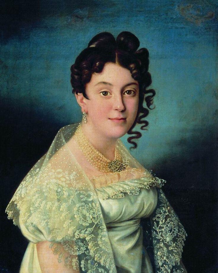 Аргунов Николай Иванович - Портрет Софьи Ивановны Вишняковой, 1812