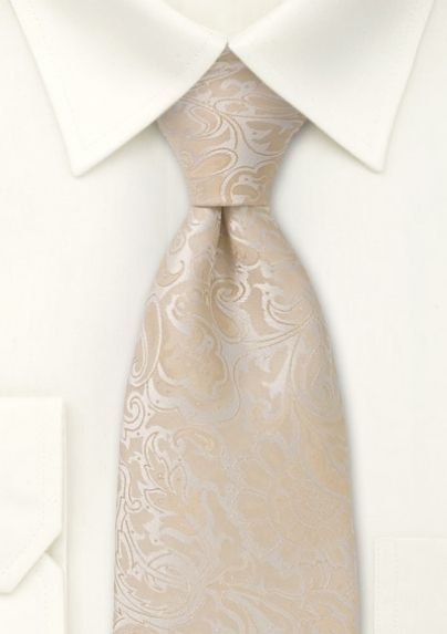 Beige tie | Vanilla and Champagne Inspiration | Ispirazione Vaniglia e Champagne | http://theproposalwedding.blogspot.it/ #wedding #matrimonio #autunno #fall #autumn #vaniglia #vanilla #cream #champagne #neutral #nude #elegant
