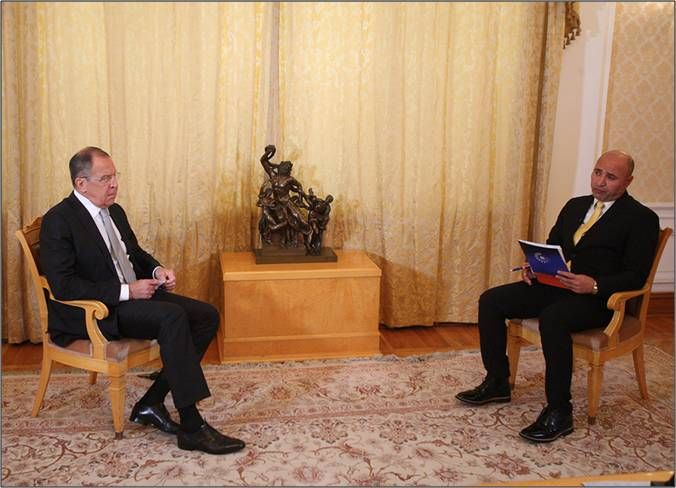 Interview with Russian Foreign Minister Sergey Lavrov by Kurdish Rudaw news agency - New Cold War: Ukraine and Beyond
