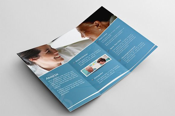 Check out Medical Trifold Brochure by Kahuna Design on Creative Market