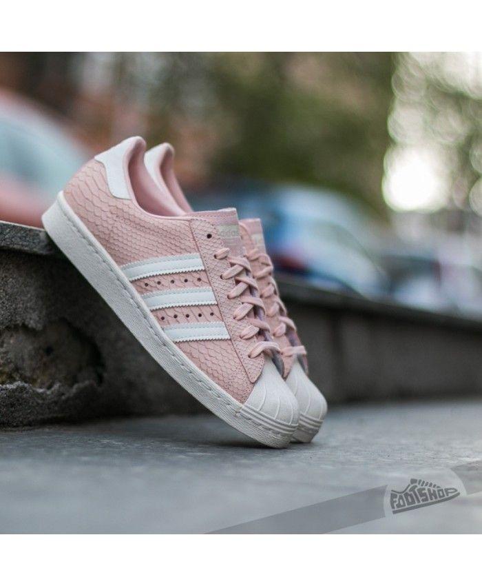 factory price da991 3e1b3 Adidas Superstar 80s Pink White Core | Adidas Superstar ...