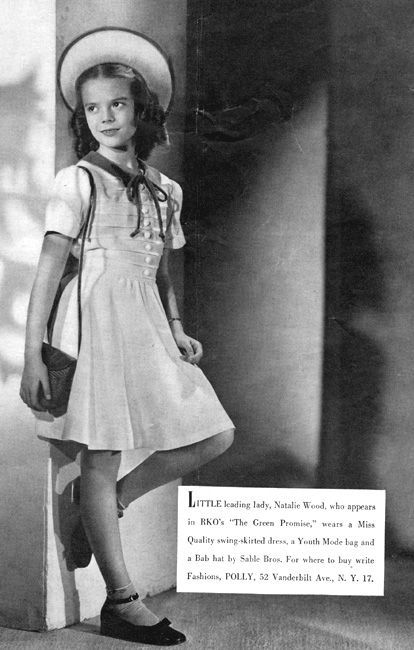 Natalie as a little girl.: