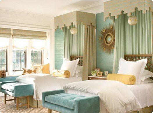 Hollywood Regency, Montecito - Contemporary - Bedroom ...
