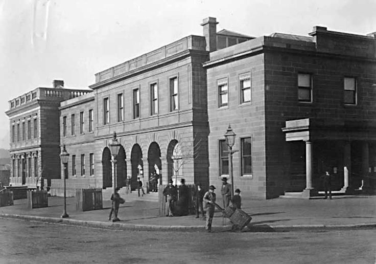 Tasmanian Electoral Commission - Historical images of Public Buildings in Hobart