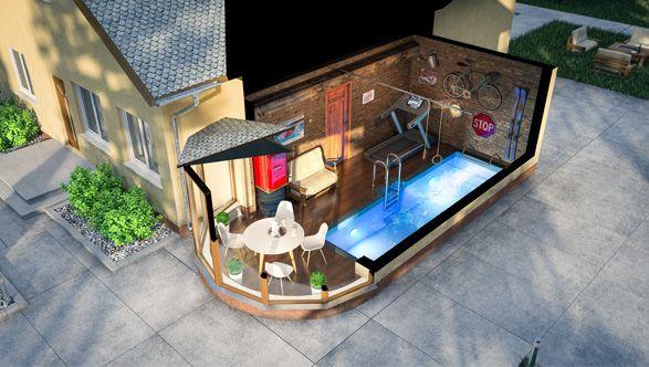 Надоел гараж? Есть решение - переоборудовать гараж с рухлядью в супер спортзал с плавательной дорожкой SwimTrack! Подробности на www.swimtrack.ru