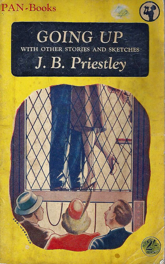 Going Up and Other Stories and Sketches by J.B. Priestley.Vintage Pan paperback book cover.