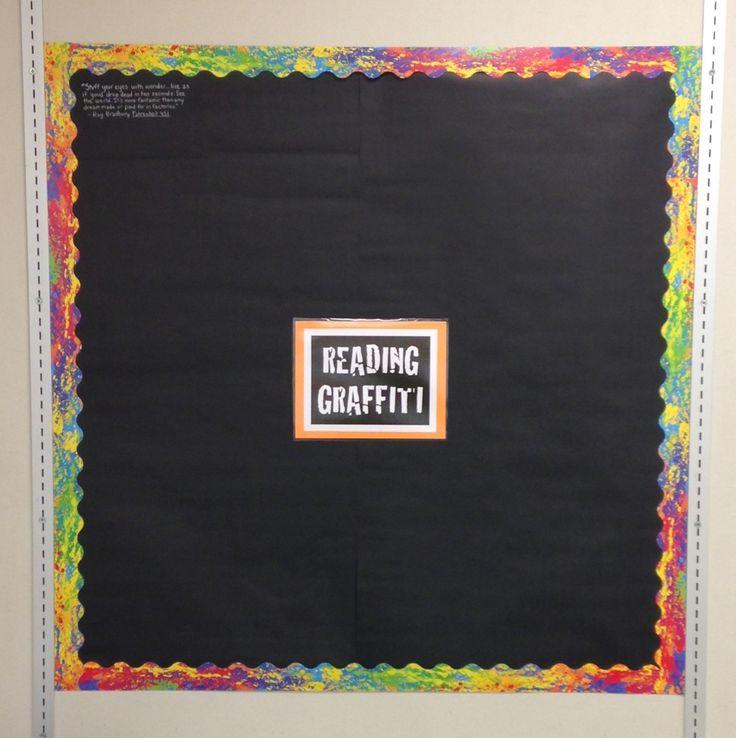 Reading Graffiti Board (c) Kristen Dembroski