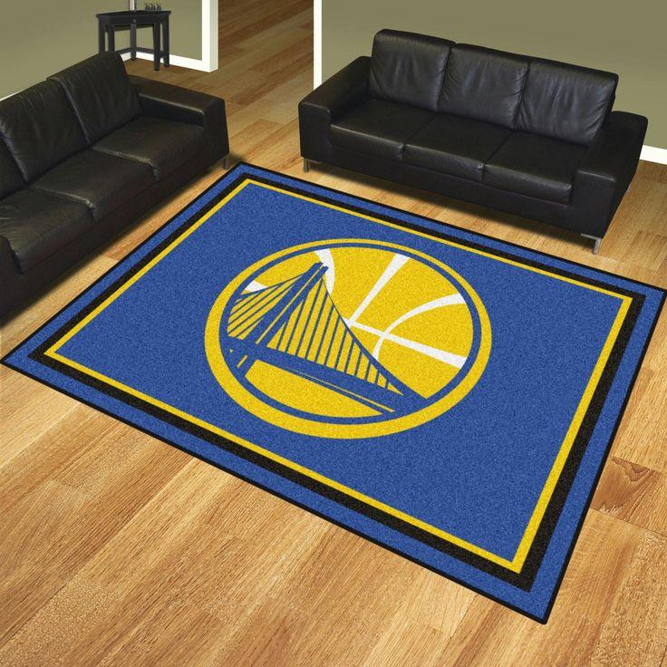 NBA   Golden State Warriors 8x10 Rug