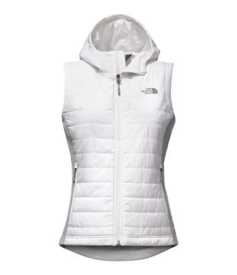 You've got 99 bouldering problems and restricted movement ain't one when you're wearing this hooded hybrid vest that's crafted with lightweight Heatseekerô insulation and smooth-face fleece side panels.
