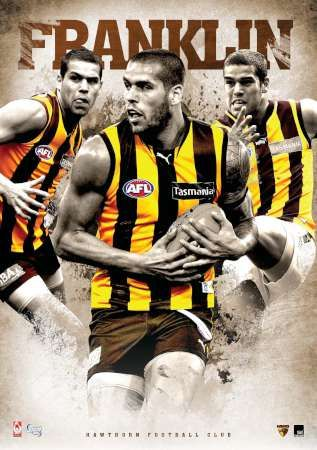 Hawthorn Football Club AFL Premium Print (17-0119)