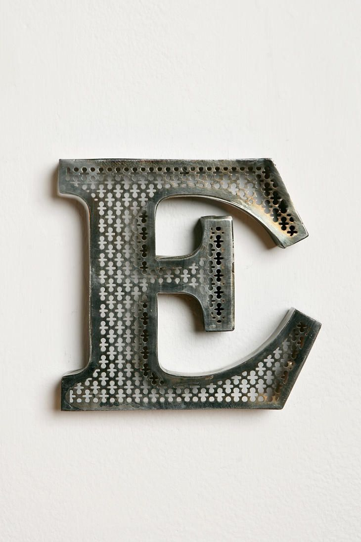 18 Inch Metal Letters 62 Best Letters Images On Pinterest  Diy Car Mirror And Creative
