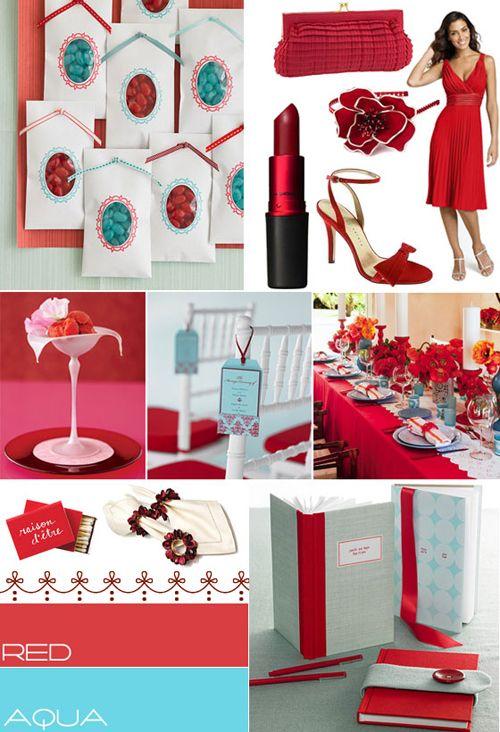 red aqua wedding colourred aqua blue wedding color pallet itakeyouco