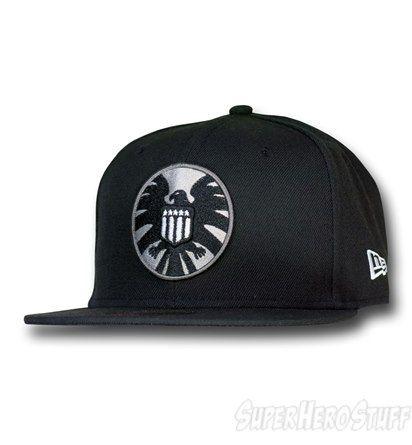 S.H.I.E.L.D. Symbol Black 59Fifty Cap
