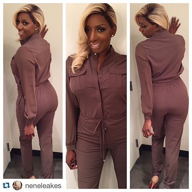 #Repost @neneleakes with @repostapp. ・・・ Rockin My Nene Leakes Collection Georgette Sleeve Jumpsuit today at work! 2 snaps for this one ladiesWe have regular length and LONG LENGTH for my TALL ladies! Various colors. Size 2 to 24! GO AND GET THEM @ HSN.COM & in Canada TSC.CA #fabulous