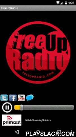 FreeUpRadio  Android App - playslack.com , FreeupRadio.. is 24/7 online radio station streaming reggae dancehall hip hop soca r&b and more... as well as live shows during the week.