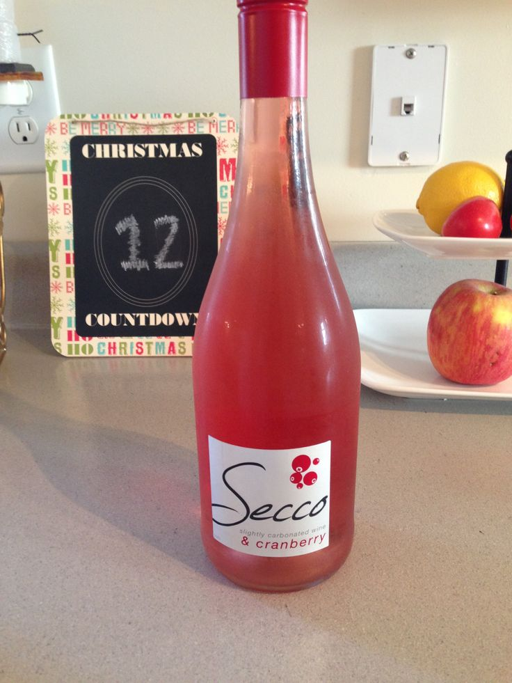 Trader Joe's Secco (Cranberry). So, so good. I'm buying at least one case, maybe two this season!