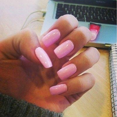 Long nails | Cute Nails | Pinterest | Pink nails