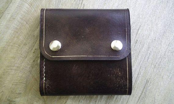 Portafogli da uomo portafogli in pelle di IlMonacoViaggiatore