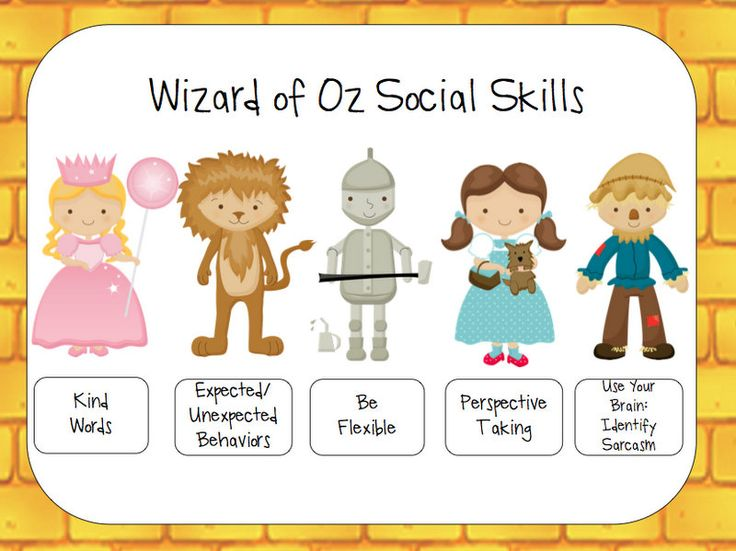 Speech Room News: Yellow Brick Road Social Skills: 61 pages: preschool- middle school. Parent Letters, activities, posters, you-tube links, homework and more.
