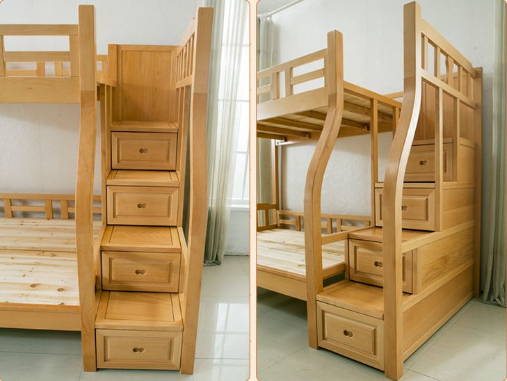 wooden double decker beds best 25 solid wood bunk beds ideas on pinterest bunk beds with