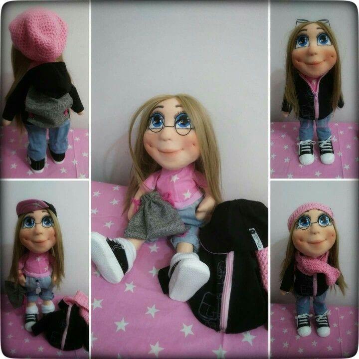 My handmade doll Laura ❤
