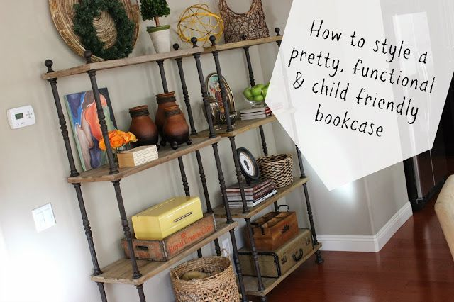 Do It Yourself Bookshelf Ideas: Decorating: My Tips For Styling A Pretty, Functional