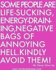 Kindly avoid them