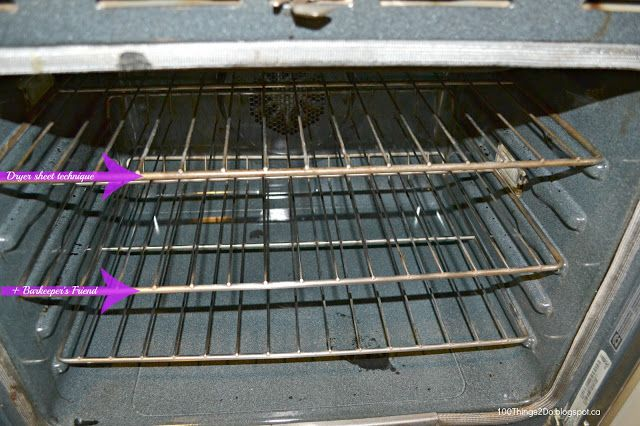 how to clean oven racks fast